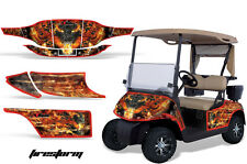 EZGO Gas Golf Cart Graphic Kit AMR Racing Sticker Accessories Parts FIRESTORM R