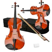 "New Student Adults 16"" Natural Acoustic Viola + Case + Bow + Rosin"