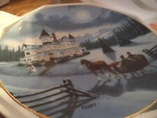 "Hamilton Collection ""I'll Be Home For Christmas"" Collectible Plate 1994"