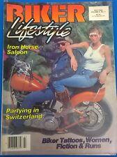 BIKER LIFESTYLE motorcycle magazine July 1984