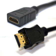 25cm HDMI 1.4 3DTV High Speed EXTENSION Cable with Ethernet 0.25m [006173]