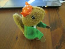 Vintage Fisher Price Woodsey Squirrel Family log woodsy Uncle Filbert pilot boy
