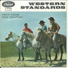 7'EP Faron Young/Hank Thompson  Western Standards  COUNTRY Germany Capitol