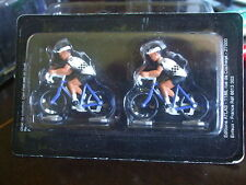 LOT DE 2 CYCLISTES TOUR DE FRANCE - MAILLOT PEUGEOT - NOREV - 1/43 - NEUFS