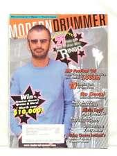 MODERN DRUMMER MAGAZINE RINGO STARR DANNY CAREY ALICIA KEYS TONY ALLEN 2005