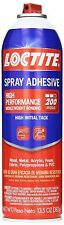NEW 6 Henkel Loctite 200 Middle High Performance Spray Adhesive 13.5-ounces Cans