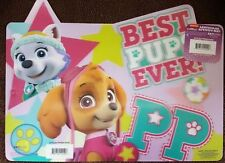 PAW PATROL - Everest and Skye - 11x17 3D Lenticular Place Mat / Posters