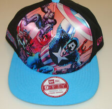 New Era Cap Hat Avengers Team Stance Snapback Adjustable Captain America Hulk