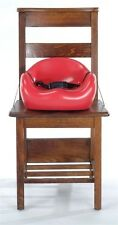 KEEKAROO CHILDREN'S CAFE BOOSTER SEAT INFANT BABY KIDS' HIGH CHAIR - RED - NEW
