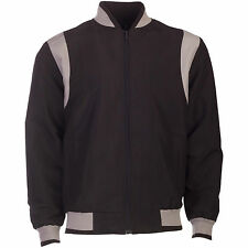 Mens Light Weight B1 two Tone Summer Jacket Sizes S- 5XL Cool Top Grandad Funnel