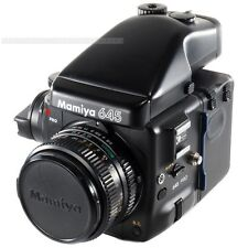 Mamiya 645 PRO with Sekor 80mm + 120 Film Back + AE Prism Finder FE401 + Crank