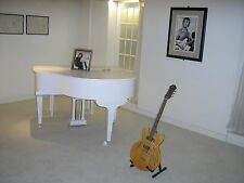 Stunning-Unique A4 Photo of John Lennon's White Piano & Guitar from Imagine