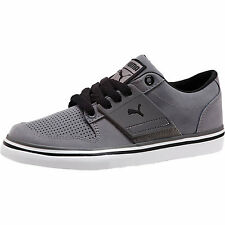 New Boys Size 4 Youth Puma El Ace 2 Jr steel gray sneakers shoes UK 3 Eur 35.5