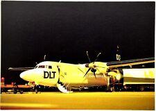 Cartolina Aviazione - Aereo Fokker 50 DLT Partner Lufthansa - Non Viaggiata