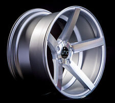 18x9 JNC 026 5x114.3 32 Silver Machine Face Wheel New set(4)