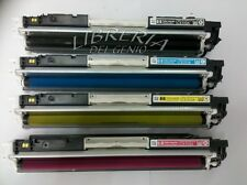 KIT 4 TONER PER STAMPANTE HP LASERJET COLOR PRO CP1025 CP1025NW CE-310A 126A