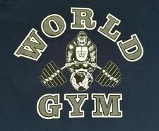 World Gym Ape Weightlifter Large T-Shirt