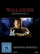2 DVDs * WALLANDER COLLECTION NO. 4 ~ Henning Mankell # NEU OVP §