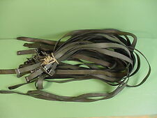 """Finnish M27 M39 Green Leather Sling Mosin Nagant Complete W/Square Buckle 49-50"""""""