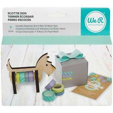 we r memory keepers  Scotty Dog dispenser inc 4 rolls of washi tape