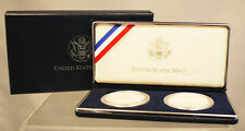 2001 US Mint American Buffalo Silver Proof 2 Coin Set w/Box - Free Shipping