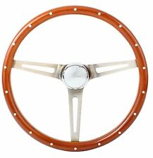 1967 Chevrolet C2 Corvette Wood Aluminum Steering Wheel w/ Installation Kit
