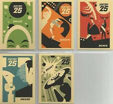 """Star Trek TNG H&V - """"25th Anniversary Posters"""" Set of 5 Chase Cards #PC1-5"""