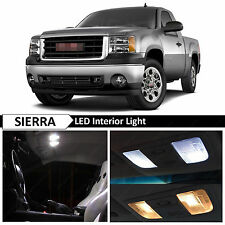 14x White Interior LED Lights Package Kit for 2007-2013 GMC Sierra