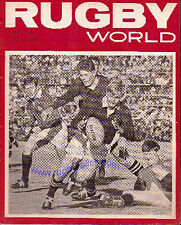 RUGBY WORLD MAGAZINE THE PERFECT GIFT FOR A RUGBY FAN BORN IN August 1968