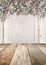 Christmas Background Photo Studio Props Vinyl Baby Photography Backdrops 5x8FT