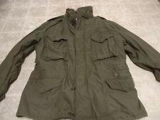 VINTAGE ORIGINAL U.S ARMY VIETNAM M65 FIELD JACKET 1974 GREEN GREAT COND M/S