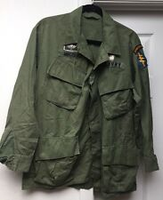 US Army Special Forces Third 3rd Pattern Poplin Jungle Jacket ARVN Jump Wing
