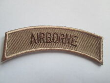 AIRBORNE Embroidered  Patch Iron or Sew on    P084