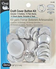 Dritz Craft Cover Button Kit Size 36 Size-36-14/Pkg 1-Pack Dritz