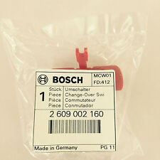 2609002160 inverseur Interrupteur , : Genuine BOSCH pièces détachées