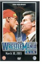 WWE WRESTLEMANIA XIX WRESTLING 19 MARCH 10 2003 GAME Brand New Sealed UK Release