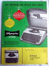 (s33) - Werbe Prospekt - OLYMPIA Schreibmaschinen
