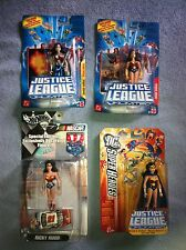 Wonder Woman Justice League Unlimited 4 Action Figure Collection (Mattel)
