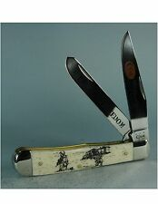 CASE XX #CA21755 IMAGE OF WAR SERIES(NEW) ENDURING FREEDOM TRAPPER FOLDING KNIFE