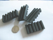 4 pcs Antivibration Rubber Pad 25x50x10mm Noise Mount Mat grip shock absorber