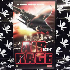 AIR RAGE (Fred Olen Ray) VHS . Ice-T, Cyril O'Reilly, Kimberly Oja, Steve Hytner