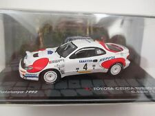 TOYOTA CELICA TURBO 4WD 1:43 Diecast Scale Model Rally Car Rally Catalunya 1992