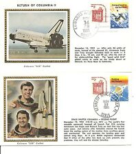 USA Space Cover. Space Shuttle Columbia Lift-Off And Landing Nov 12-14, 1981 II