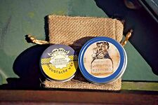GUNN METAL Beard Balm and Moustache Wax Set in 'Teakwood'