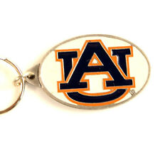 Auburn University AU  Enameled Pewter Keychain  Made In USA New