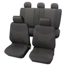 Luxury Dark Grey Car Seat Cover set - For Ford Focus C-Max 2003 To 2007