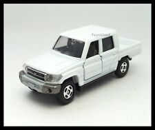 TOMICA #103 TOYOTA LAND CRUISER 1/71 TOMY DIECAST CAR White Off Road