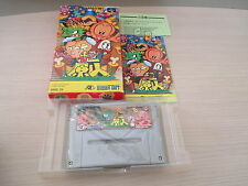 SUPER GENJIN BONK PC KID 1 SFC SUPER FAMICOM JAPAN IMPORT COMPLETE IN BOX!