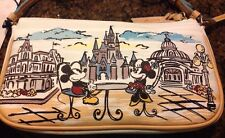NWT DOONEY & BOURKE DISNEY WORLD CINDERELLA CASTLE MICKEY MINNIE CROSSBODY PURSE