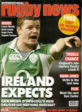 RUGBY NEWS (UK) MAGAZINE February 2007